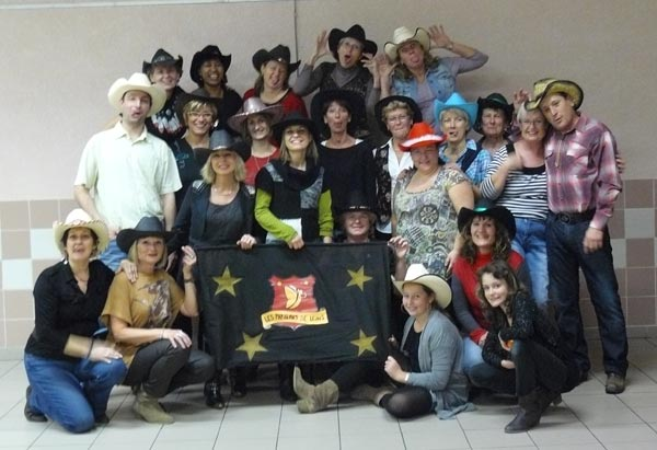 Dance country dans le Gard